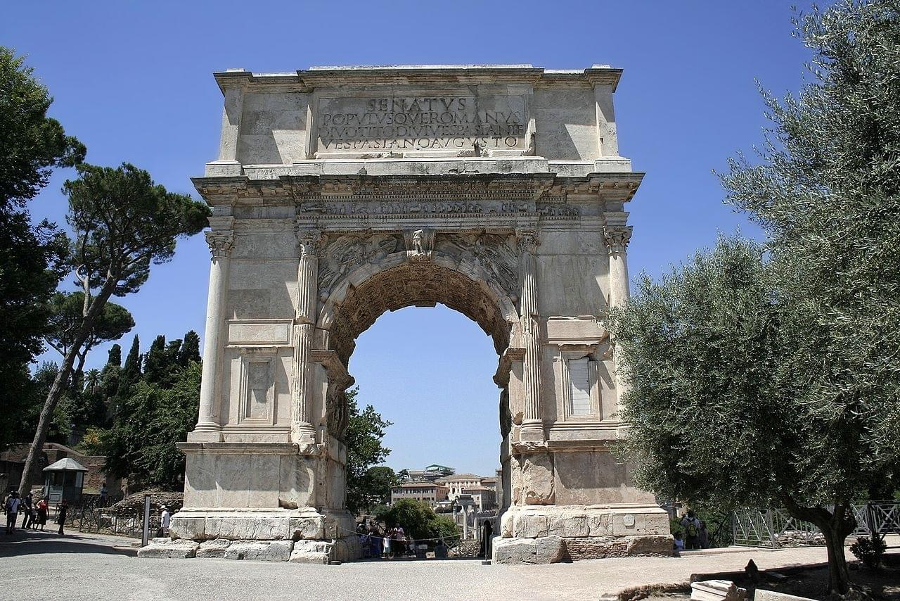 The Triumphal Arch of Titus