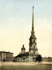 SPB St. Peter and Paul Cathedral, photochrome 1896-1897 (WU)