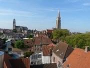 View on Bruges from De Halve Maan brewery (2)