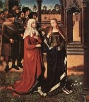 Master Of The Saint Lucy Legend - Scene from the St Lucy Legend - WGA14616