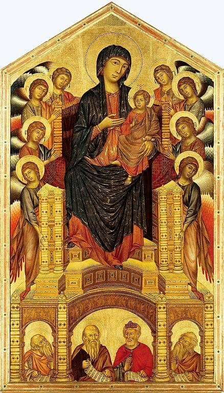 The work of Cimabue