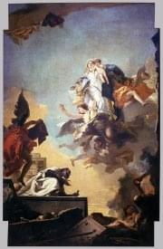 Giovanni Battista Tiepolo - Apparition of the Virgin to St Simon Stock - WGA22298