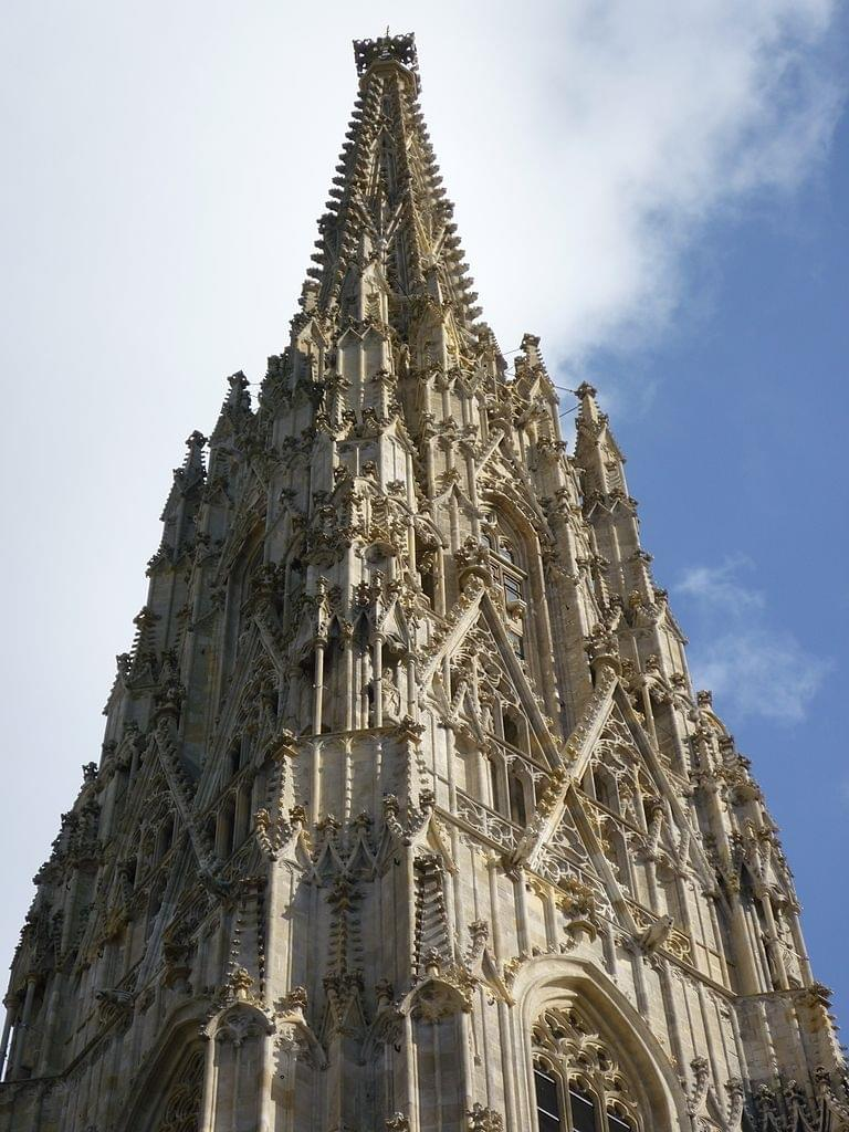 The south tower of the cathedral of Vienna