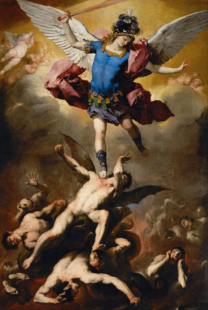 The Fall of the Rebel Angels by Giordano