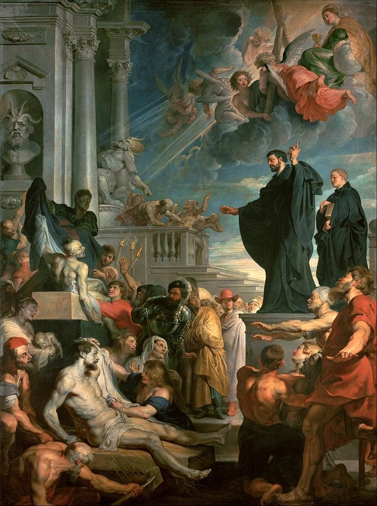 The Miracles of Saint Francis Xavier by Rubens