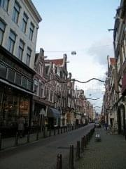 A street in Amsterdam filled with antique shops - Stierch