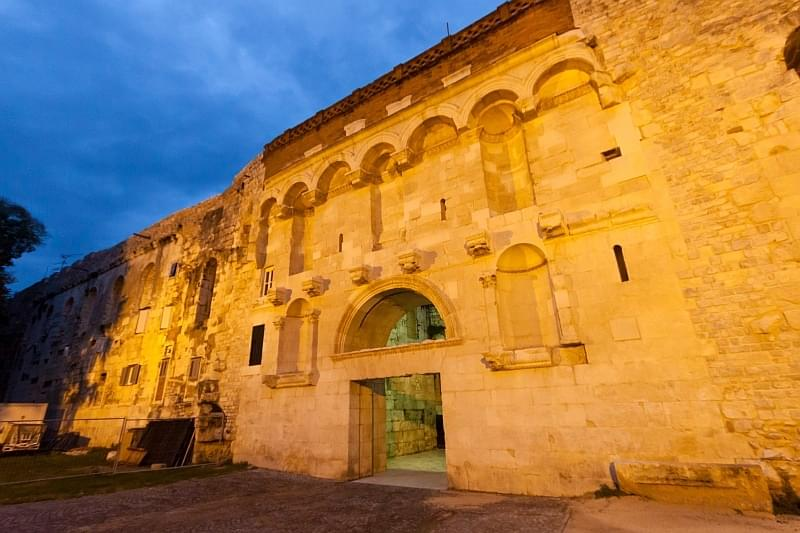 Diocletian's Palace, Golden Gate 2