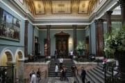 Staircase hall of the National Gallery, London