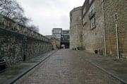 Tower of london outer ward byward from inside