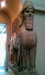 Lamassu from Nimrud - British Museum