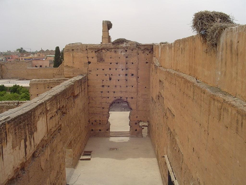 The courtyard