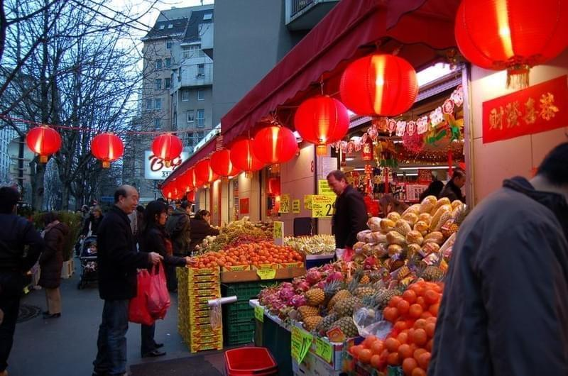 Quartier chinois de Paris