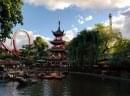 Le parc d'attraction de Tivoli - Copenhague