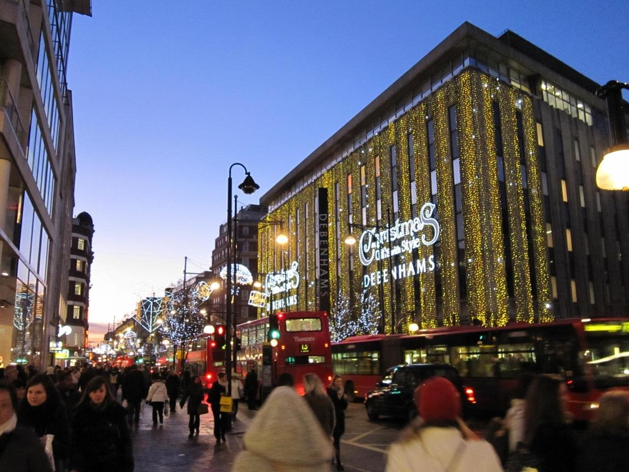 Oxford Street - Shopping