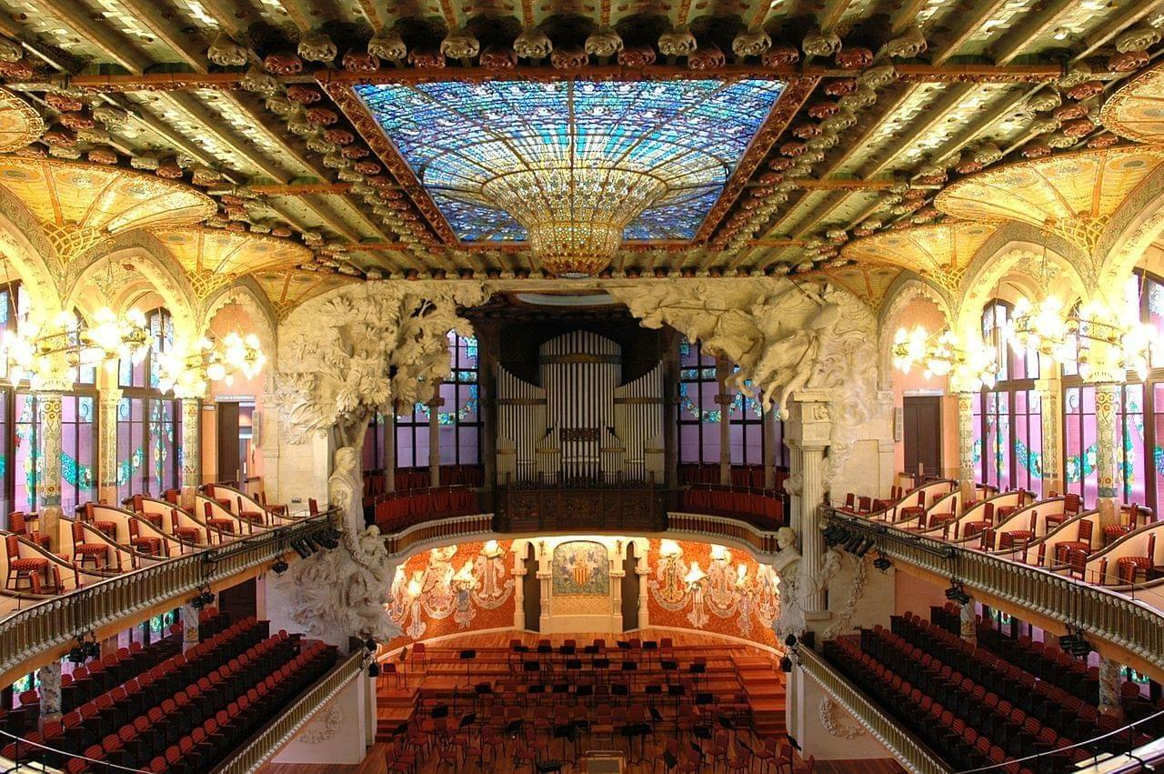 Photo Le Palais de la musique catalane à Barcelone
