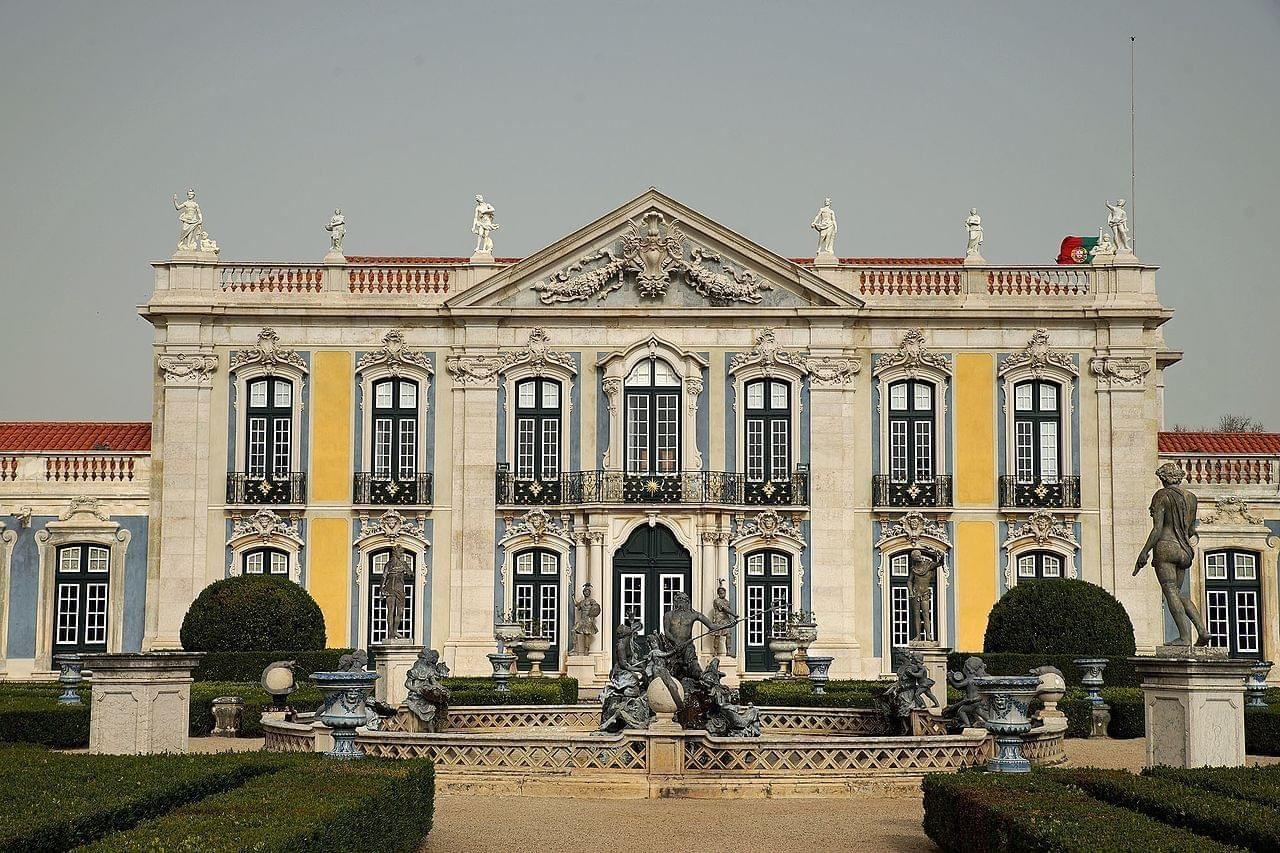 Photo Palais national de Queluz
