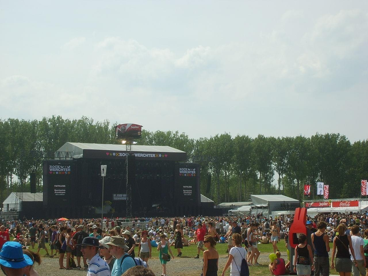 Photo Rock Werchter Festival