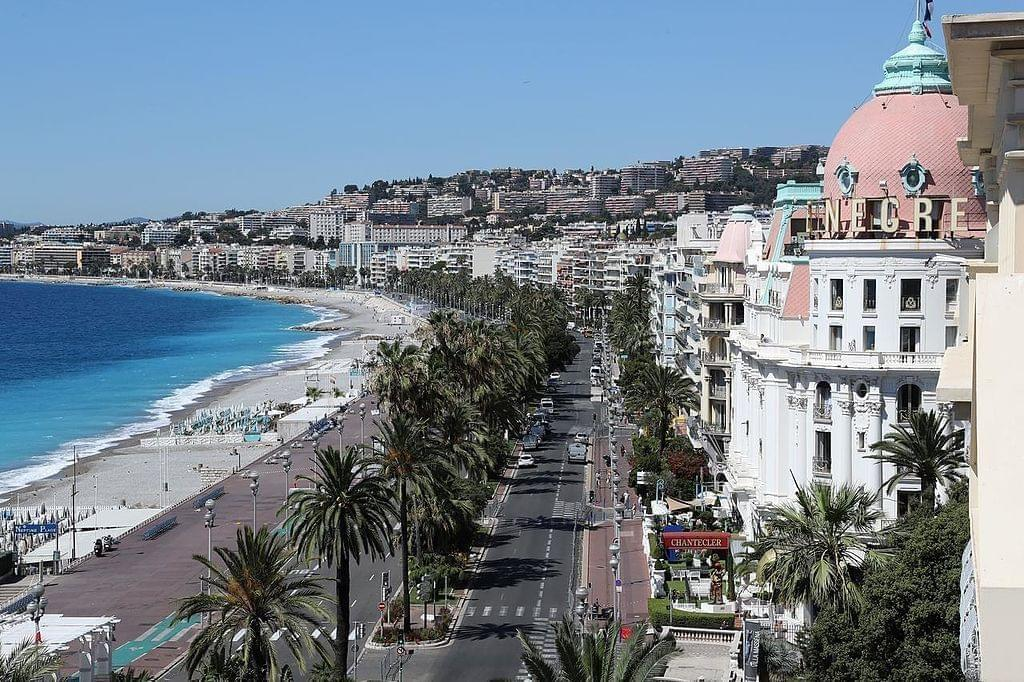 Photo Promenade des Anglais de Nice
