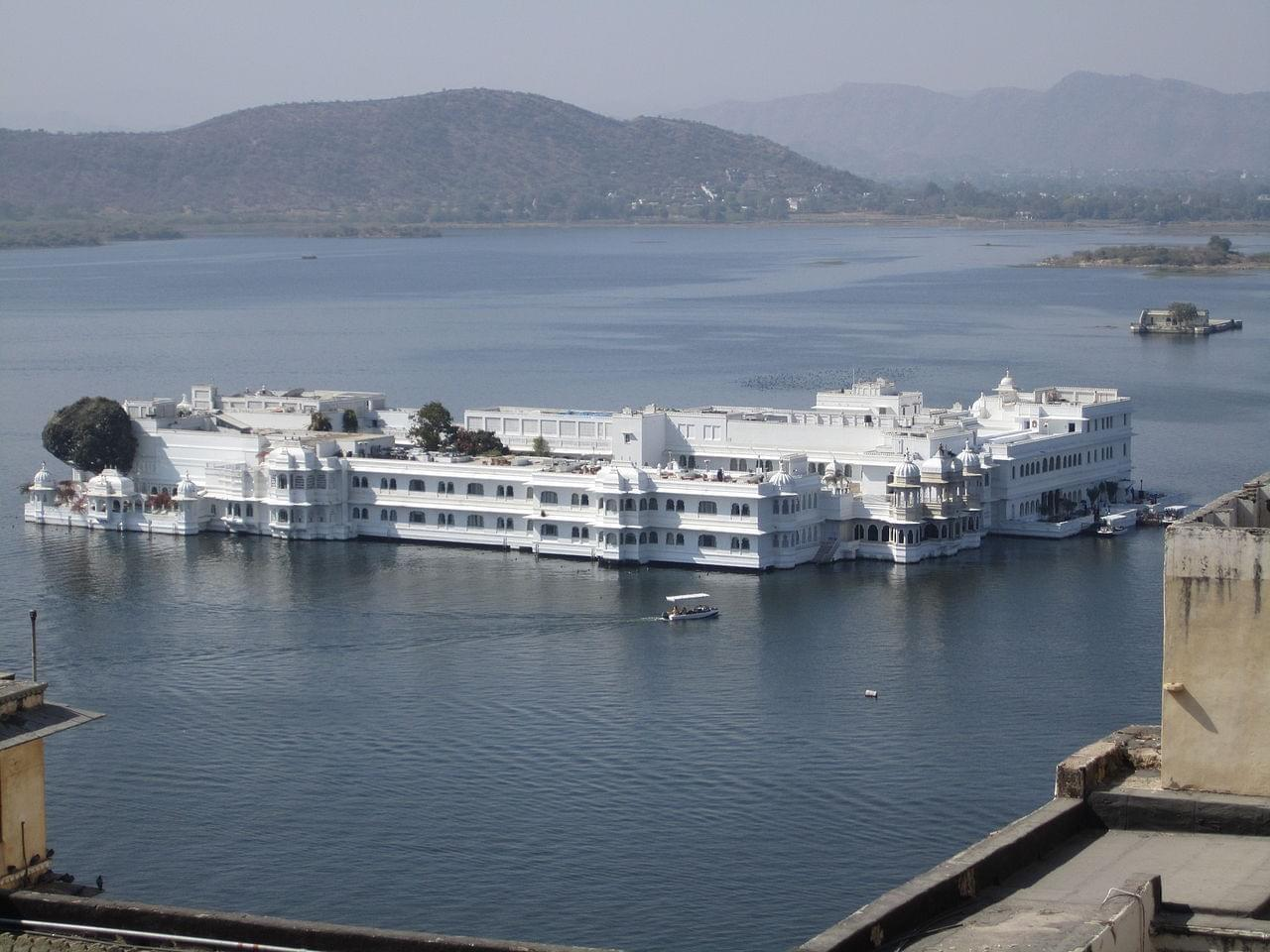 Photo Lac d'Udaipur