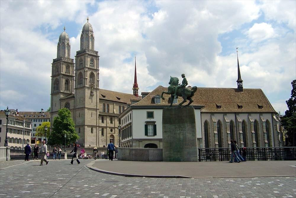 L'Eglise de Grossmünster