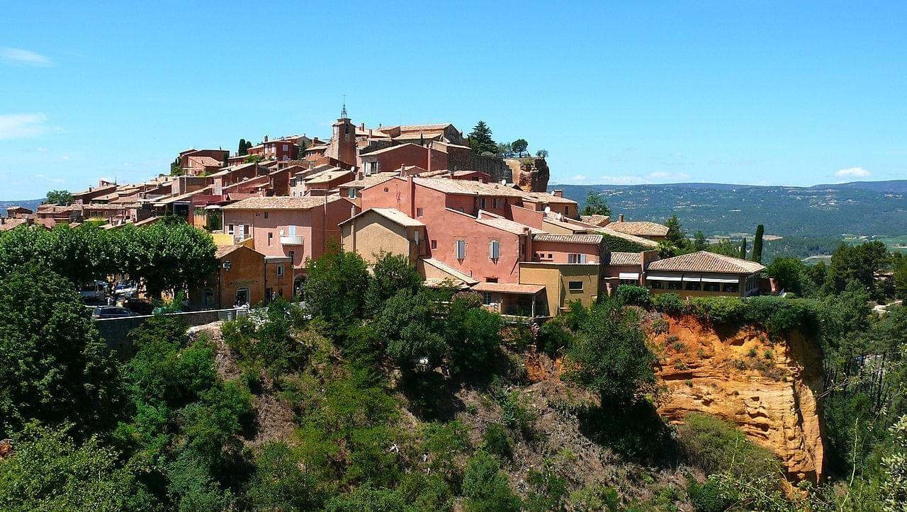 Photo Roussillon en Vaucluse