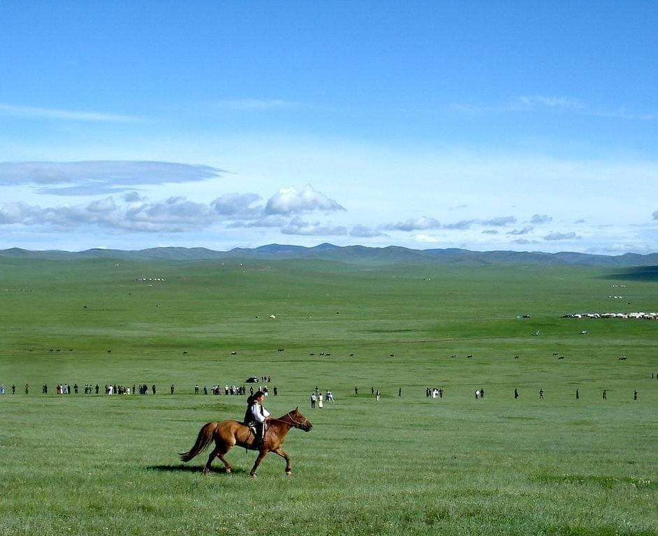 Photo Les steppes de Mongolie