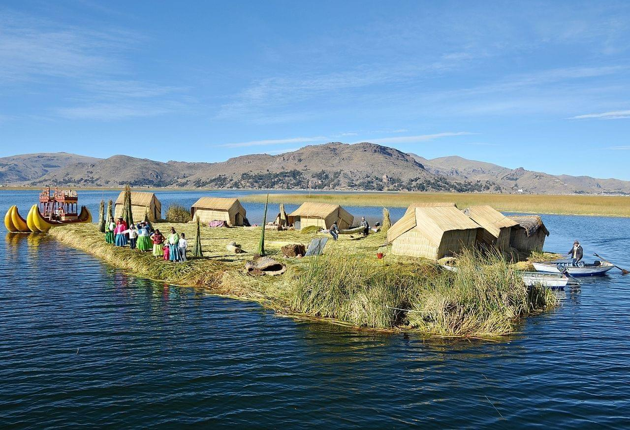 Photo Lac Titicaca - Puno