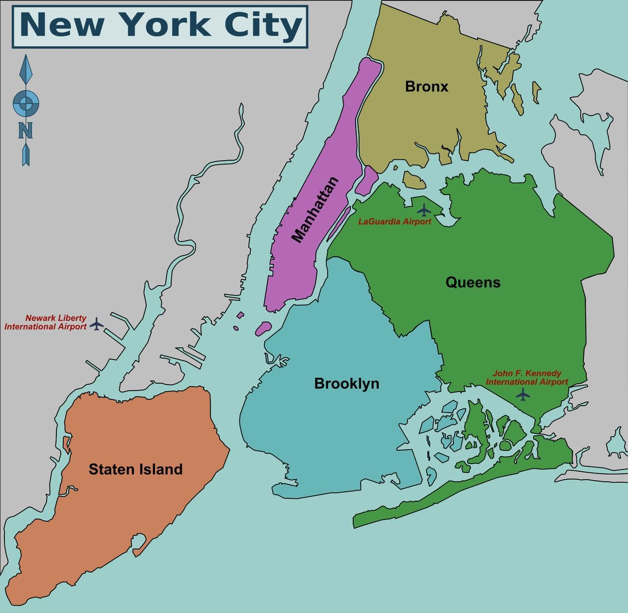 Source PerryPlanet Commonswikimediaorg Wiki FileNew York City District Map