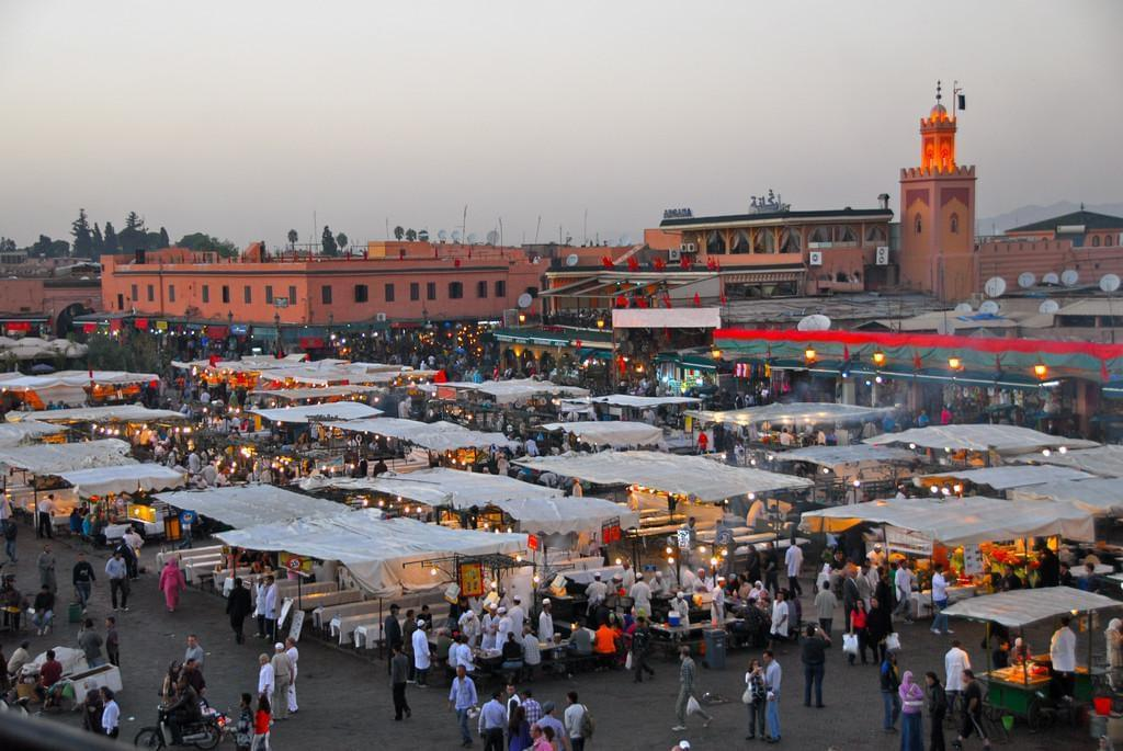 Photo La Place Jemaa El Fna à Marrakech
