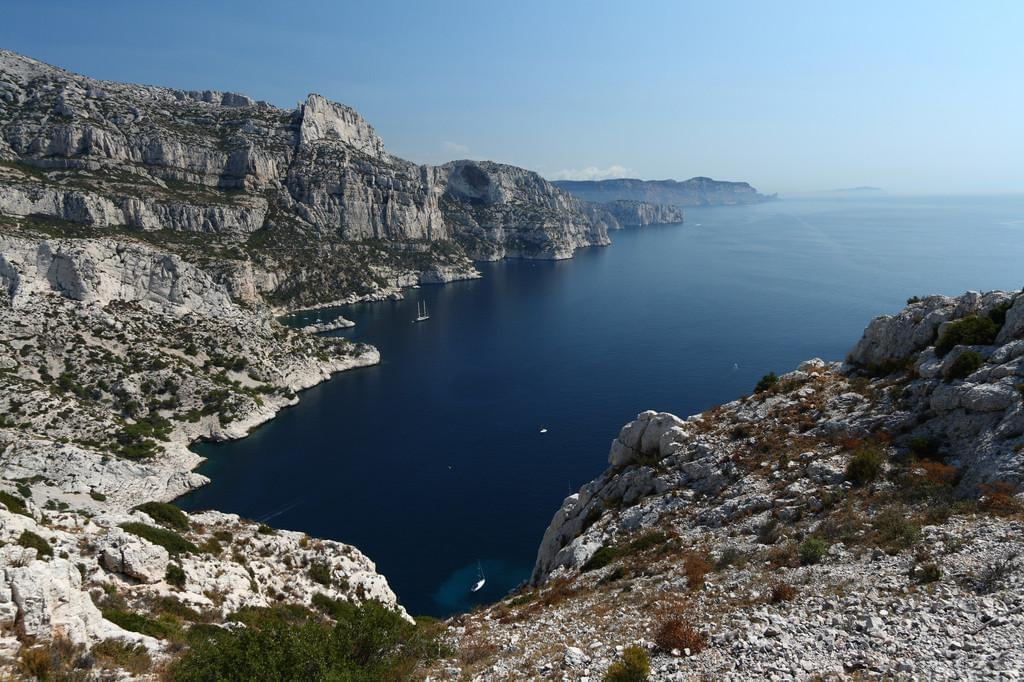 Photo La calanque de Morgiou, près de Marseille
