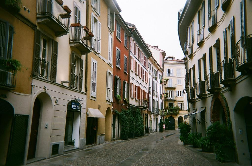 Photo Le quartier de Brera à Milan