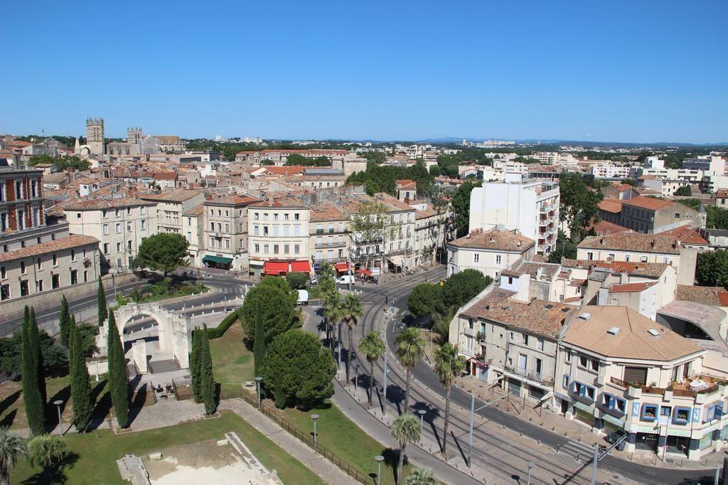 Photo La vue sur Montpellier depuis le Corum