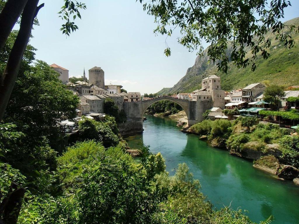 Photo Le Pont de Mostar, classé par l'Unesco
