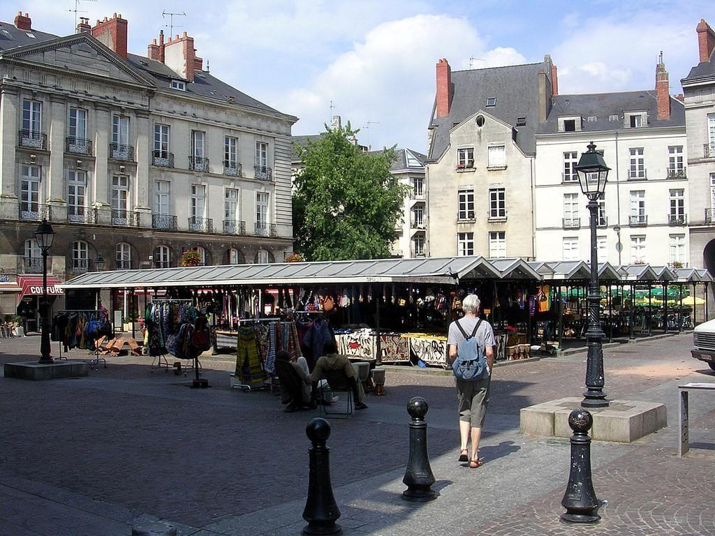 Photo Le quartier Bouffay de Nantes