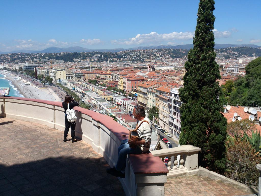 Photo La colline du château de Nice