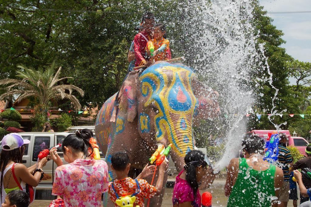 Photo Fêtez le nouvel an thaï en Thaïlande