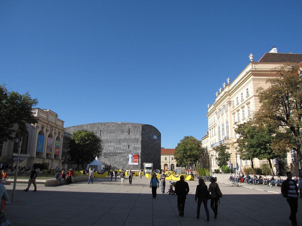 Photo Le Quartier des Musées de Vienne (et le Léopold Museum)