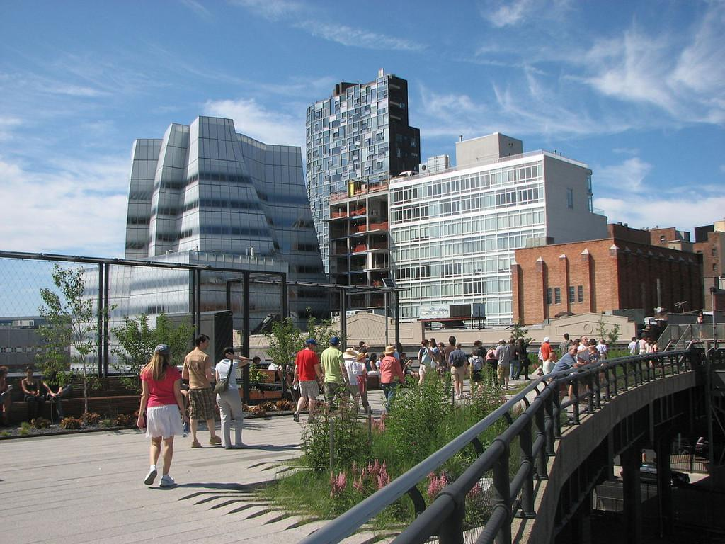 Photo New York's High Line