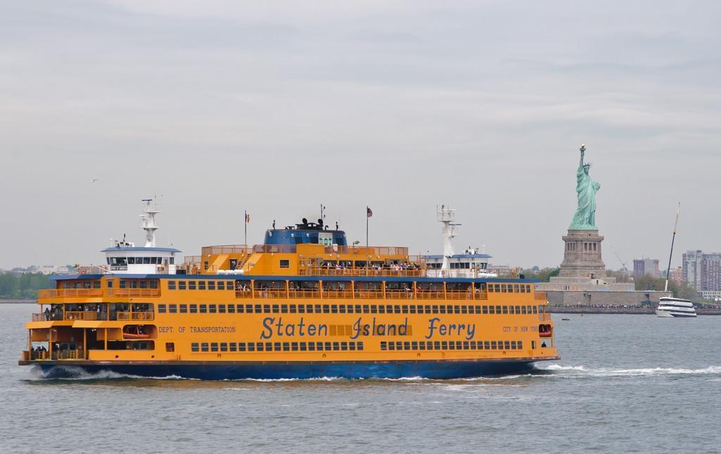 Photo New York gratuit: Le ferry de Staten Island