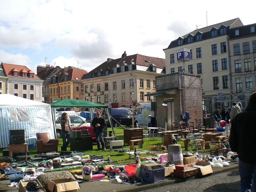 Photo Assister à la grande Braderie de Lille