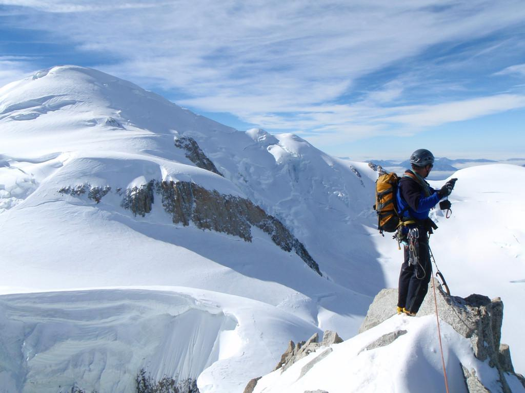 Photo escalader le Mont-Blanc