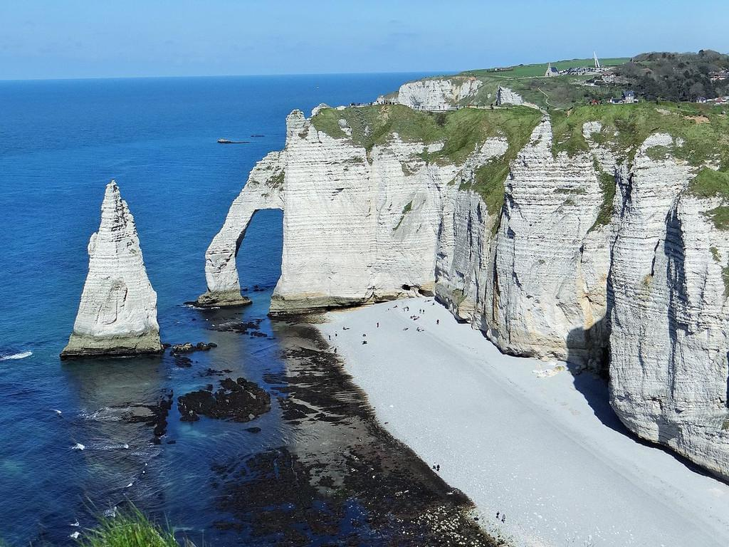 Photo Les falaises d'Etretat - Normandie