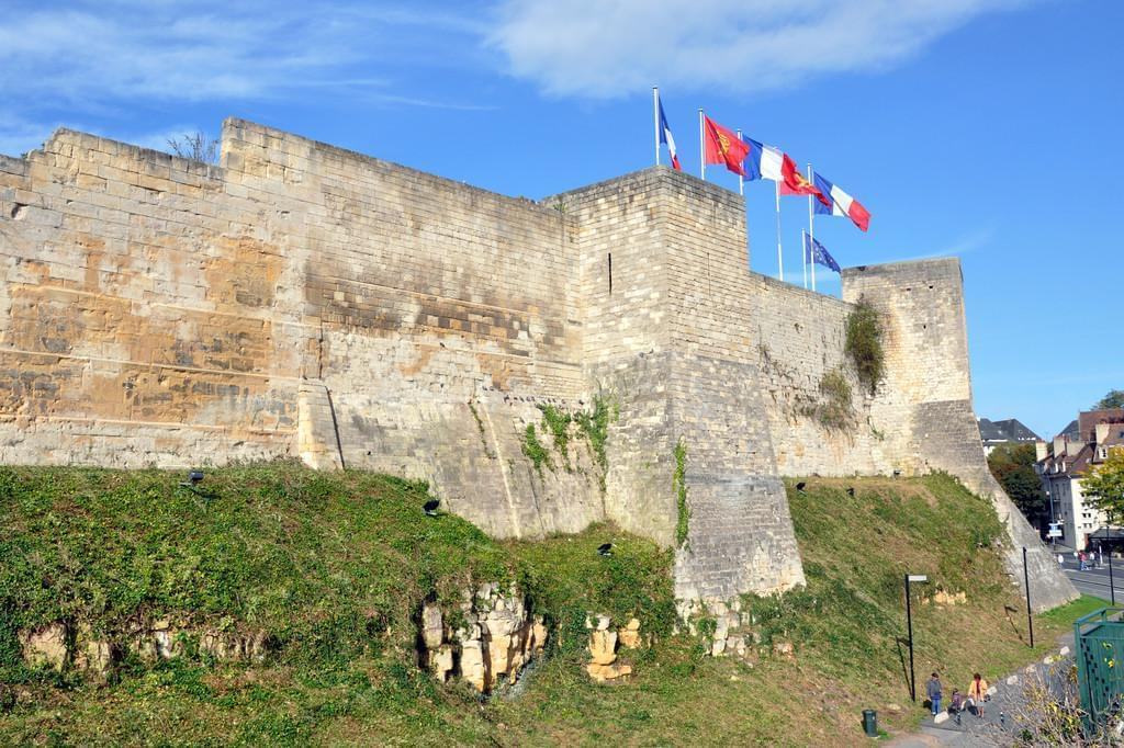 Photo Le château de Caen