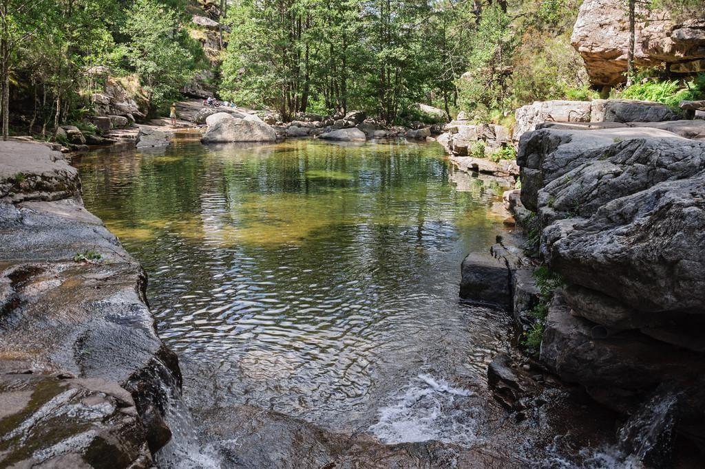 Photo Les piscines d'Aïtone à Evisa