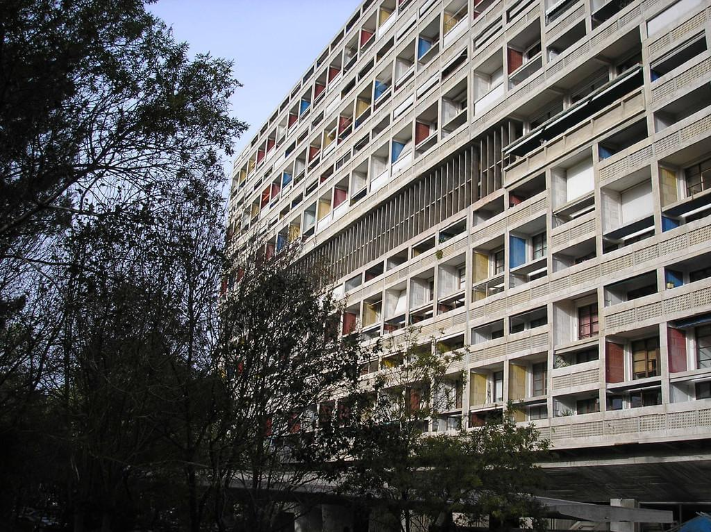 Photo La Cité radieuse Le Corbusier