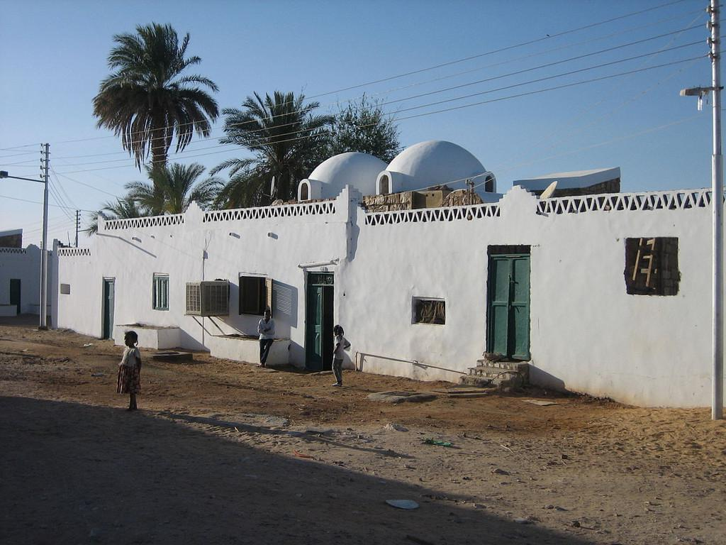 Photo Le petit village d'Abu Simbel