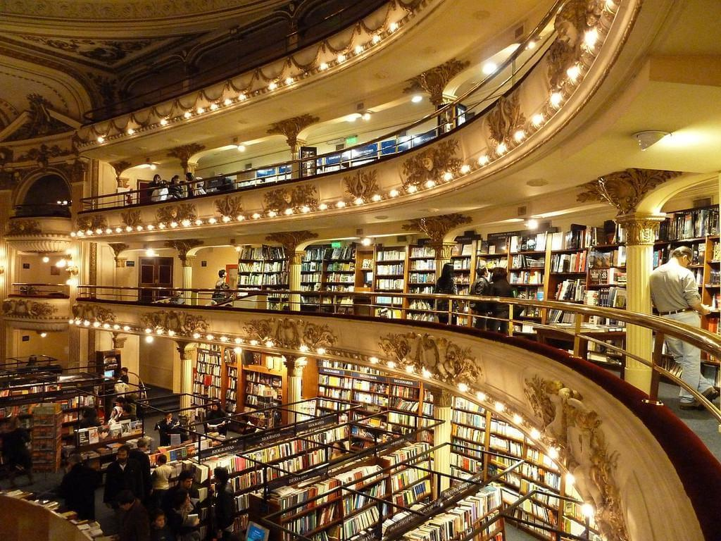 Photo El Ateneo Grand Spendid, une librairie majestueuse à Buenos Aires