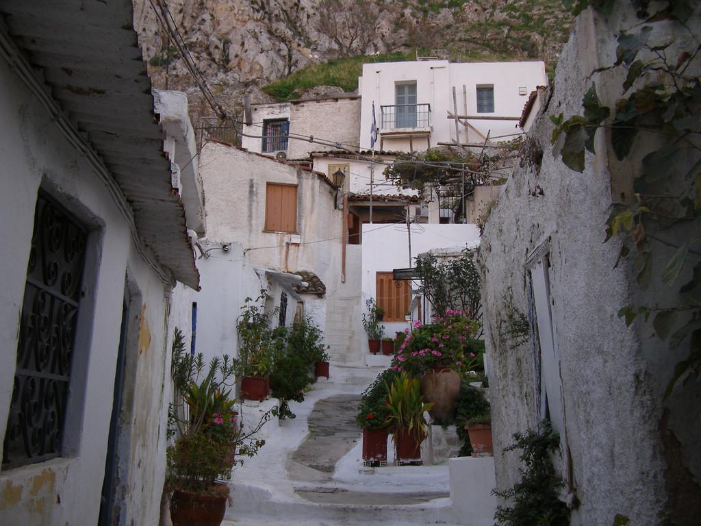 Photo Petite balade dans Anafiotika au pied de l'Acropole, à Athènes