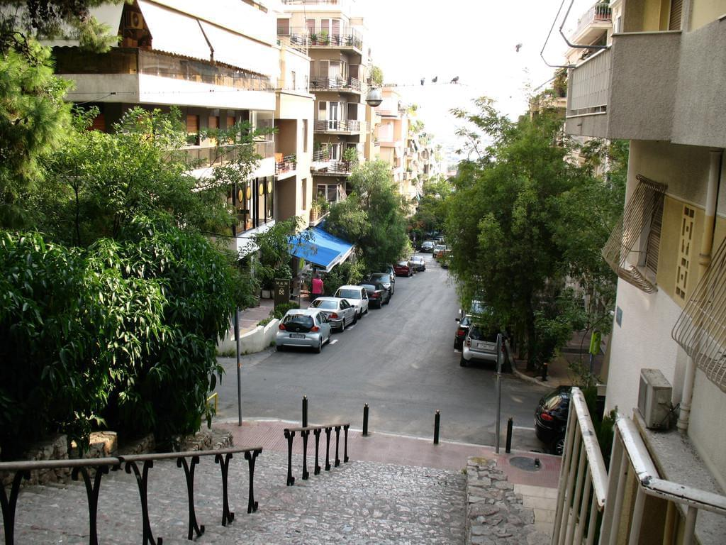 Photo Le quartier de Kolonaki à Athènes.