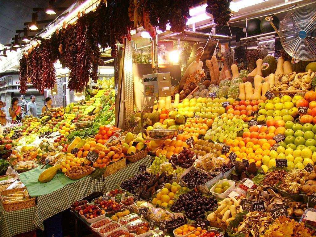 Photo Le marché de la Boqueria